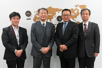 マレーシア元留日学生協会(JAGAM)の会長が本学を来訪