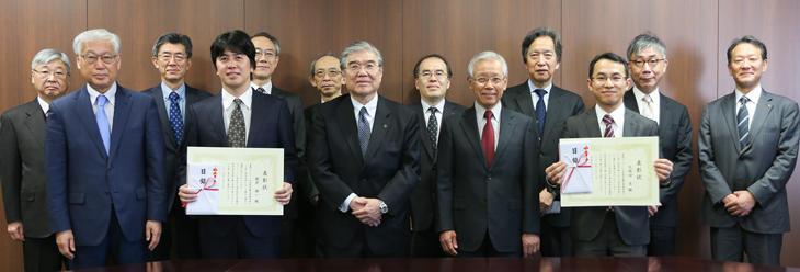 優れた研究業績を挙げた教員を表彰 −東京理科大学優秀研究者賞−03