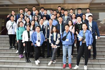外務省主催「JENESYS2018」で来日したモンゴル訪日団31名が本学に来校06
