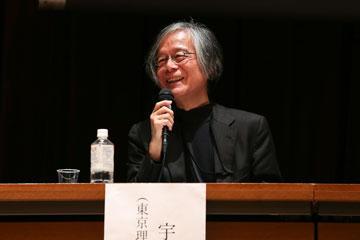 シンポジウム「地域から外濠の再生を考える」にて松本洋一郎学長が基調講演04