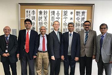 インド理科大学院(Indian Institute of Science)の訪問団が本学を来訪