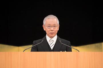 2019年度入学式を挙行_松本学長式辞