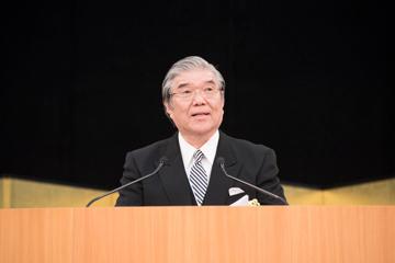 2019年度入学式を挙行_本山理事長祝辞