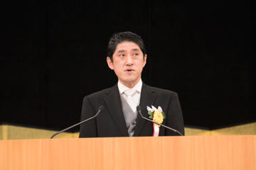 2019年度入学式を挙行_木内会長祝辞