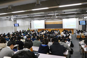 「理工学部探見~春のオープンキャンパス~」を開催(4/21・開催報告)01