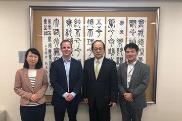 カリフォルニア大学アーバイン校関係者が東京理科大学を来訪