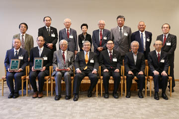 東京理科大学維持会 募金顕彰の会を開催03
