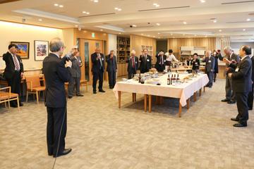 東京理科大学維持会 募金顕彰の会を開催04