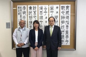 ビクトリア大学関係者が東京理科大学を来訪