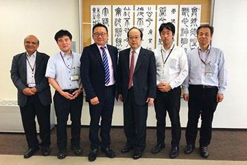 マレーシア元留日学生協会(JAGAM)の会長が本学を来訪(5月)