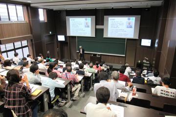 第3回坊っちゃん講座「機械工学の最前線―流体シミュレーションの医学への応用―」開催報告1