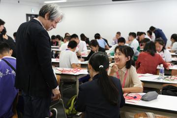 JST主催「さくらサイエンスプラン」 中国から高校生50名が本学に来校_02