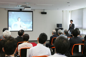 スペースコロニーデモンストレーションモジュールオープニングセレモニーを開催 (7/30・開催報告)_06