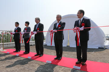 Space Colony Demonstration Module Opening Ceremony Held (7/30)_07