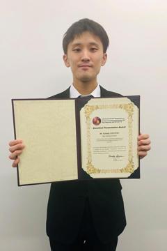 本学大学院生がALC'19においてExcellent Presentation Awardを受賞