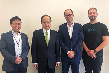 Group from Vienna University of Technology (Partner University / Austria) Visits TUS