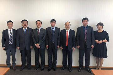 Visitors from Heilongjiang University of Science and Technology (China) Visit TUS