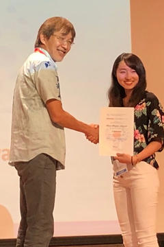 本学大学院生らがOkinawa Colloids 2019 Best Poster Awardを受賞
