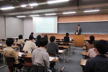 セミナー「知のフロンティア」第6回を開催(11/18)