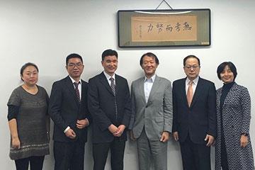 中国石油大学(華東)(協定校・中国)の訪問団が本学を来訪