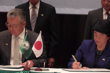 TUS Vice President Mukai Joins the AIT-Japan Cooperation 50th Anniversary Celebration Ceremony, Signs MOU for Cooperation between Two Institutions