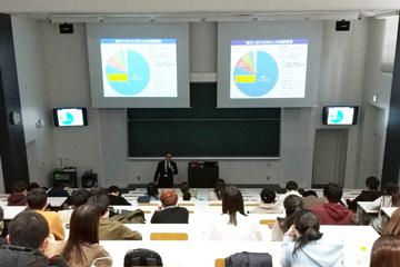 スプリング語学研修プログラム参加者を対象に外務省による講演会を実施