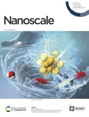 本学教員らによる総説が英国王立化学会出版のNanoscale誌のFront Coverに選出