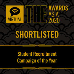 TUS Initiatives Selected for THE Awards Asia 2020 Shortlist