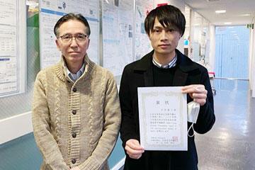 本学大学院生が第36回NPO法人 日本脳神経血管内治療学会学術総会にて受賞