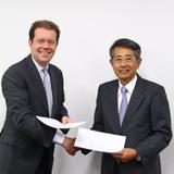 本学とアムンディ社が共同研究契約を締結