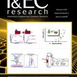 本学教員らの論文がIndustrial & Engineering Chemistry Research誌(アメリカ化学会)のFront CoverにてHighlightとして選定