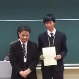 本学学生が第19回化学工学会学生発表会(小金井大会)にて優秀賞を受賞