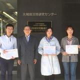 JST「さくらサイエンスプラン」により中国・東北師範大学から5名が本学に来訪――光触媒について共同で研究活動を実施