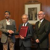 インド理科大学院と本学の間で学術交流覚書を締結